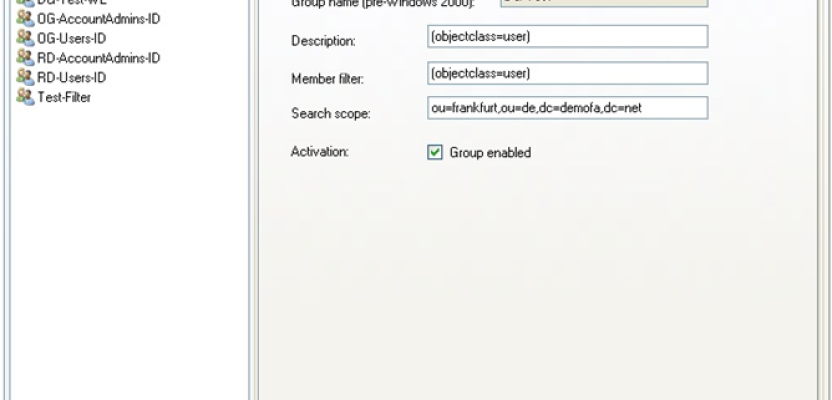 Active Directory: establishing dynamic security groups