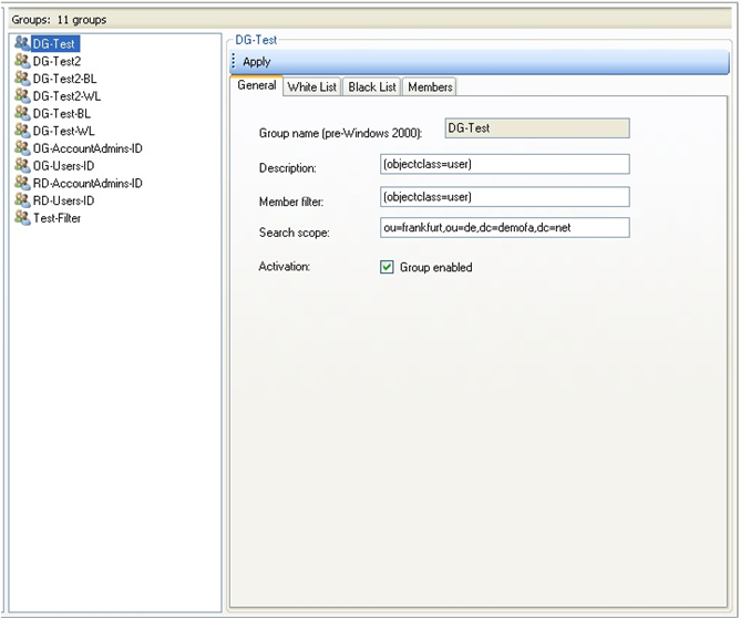 Active Directory: dynamic security groups