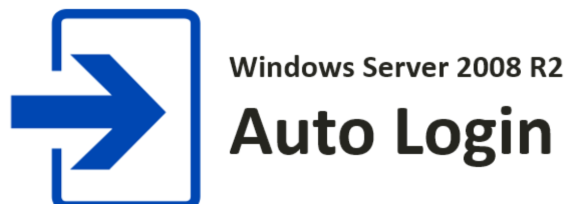 Auto login on Windows Server 2008 R2