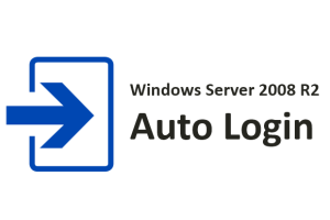 Auto login on Windows Server 2008 R2