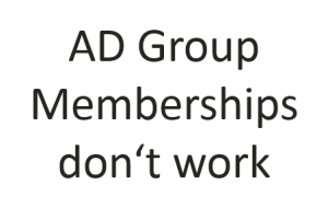 Group membership not working and GPO does not apply