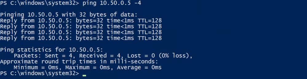 IPv4-Ping