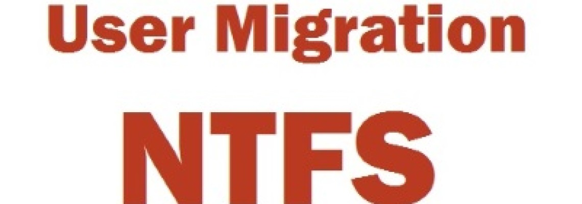 Set ownership on NTFS folders / volumes