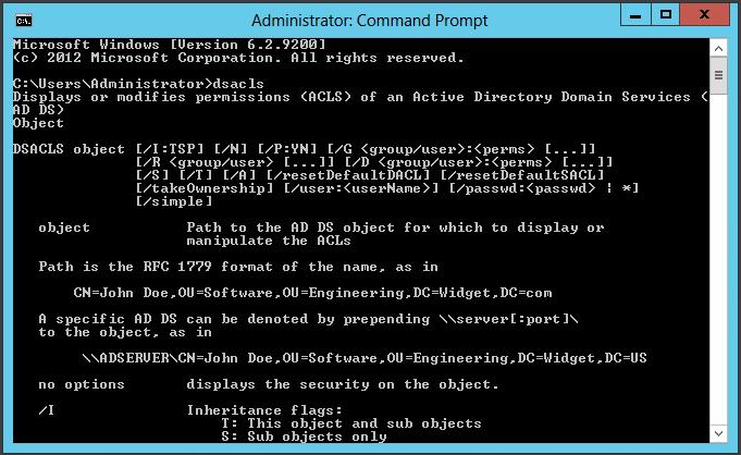 DSACLS-Command-Prompt
