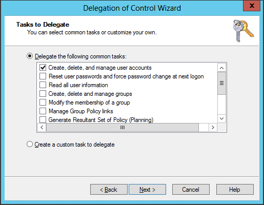 Active Directory Delegation with DSACLS - Active Directory FAQ