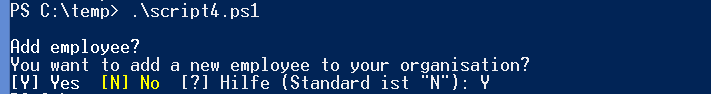PowerShell-Prompt-for-Choice