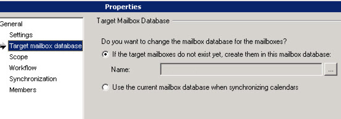 QMM Exchange: Automatically Create Mailbox Collections