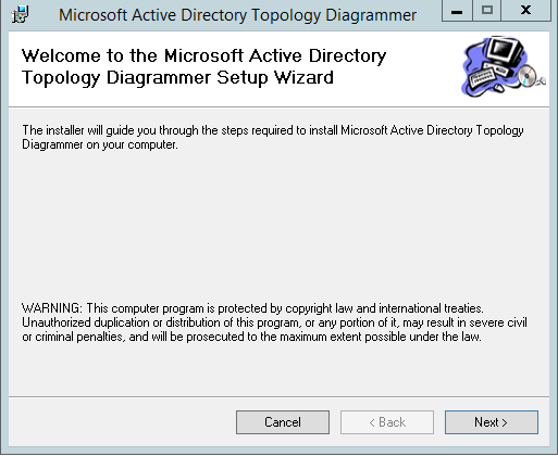Active Directory Structure Diagram In Visio With Adtd Visualize Ad