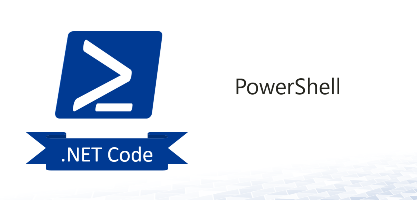 Use .Net Code (C#) and DLLs in Powershell