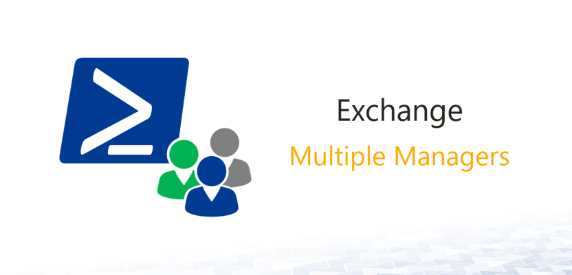 Exchange: Distribution Lists with Multiple Managers