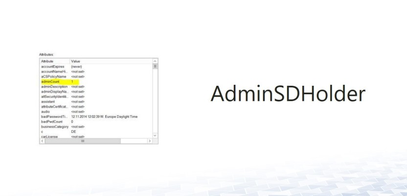 AdminSDHolder – Delegate administration of admin accounts?
