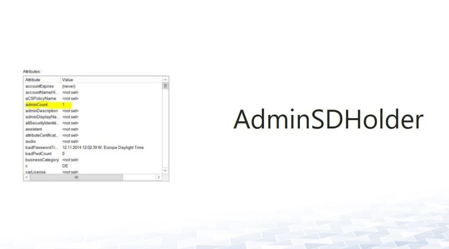 AdminSDHolder – Delegate administration of admin accounts?