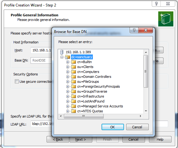novell-migration-profile-creation-wizard
