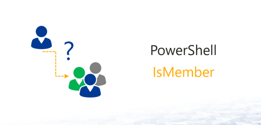 IsMember - Check group membership of AD users - Active Directory FAQ
