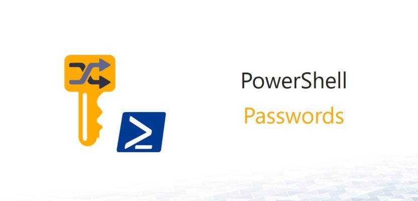Creating an individual random password with PowerShell