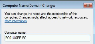 dynamic dns host entry one