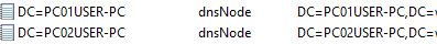 dynamic dns host entry four