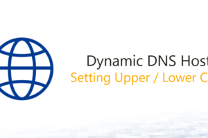 Changing the Notation of a Dynamic DNS Host Entry